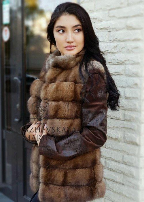 """Куртка из соболя """"Гульмира"""""""